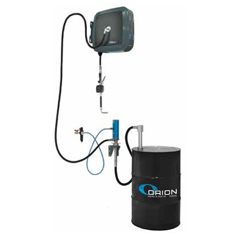 Distribution Kit for Drum with Wall Mounted Pump